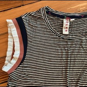Dolan Ruffle Tank from Anthropologie size S Small!